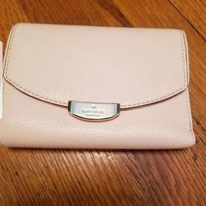 Kate Spade pale pink wallet